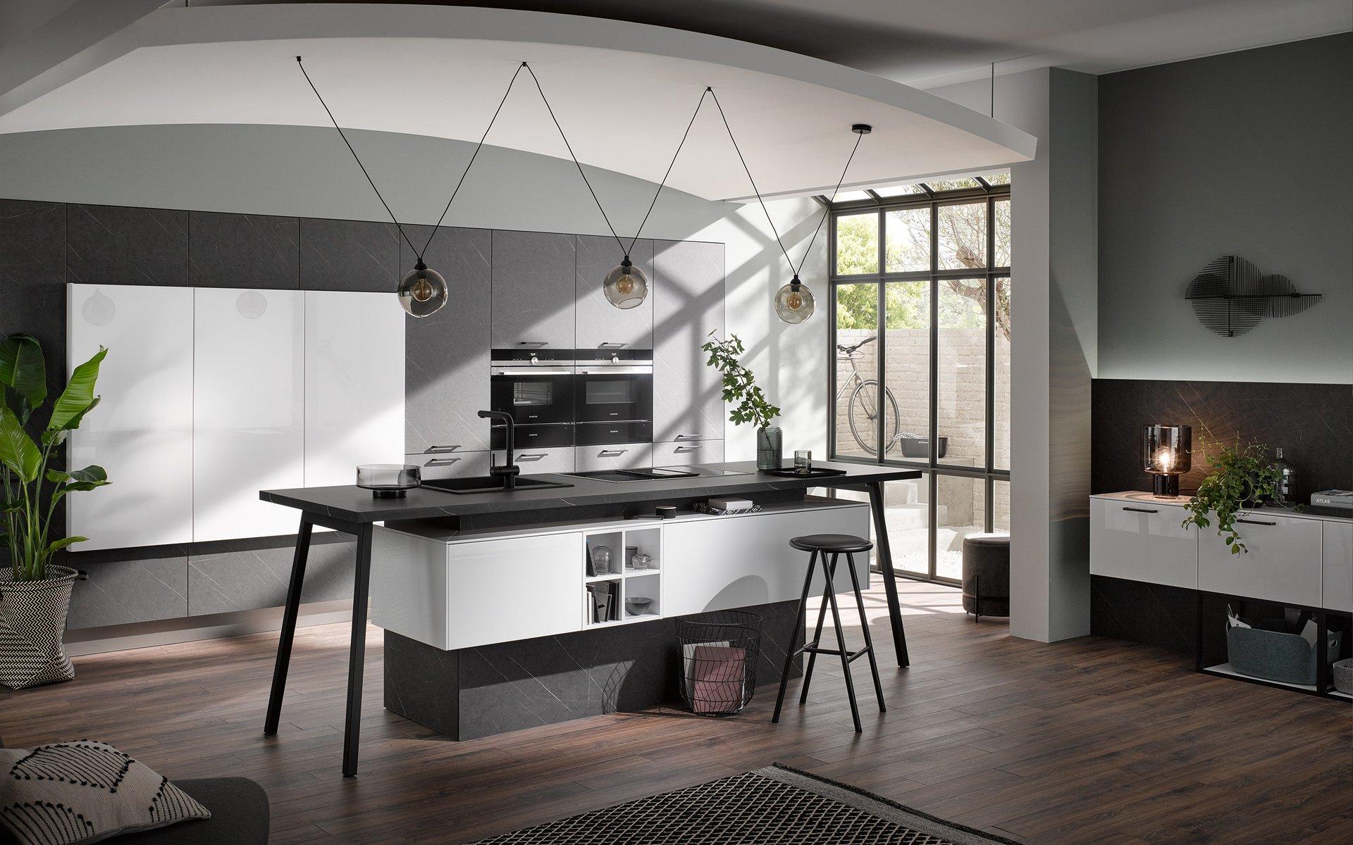Idéo Rochefort et Bastogne cuisines equipées sur mesure design